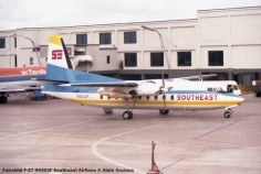 img105 Fairchild F-27 N4302F Southeast Airlines © Alain Anciaux