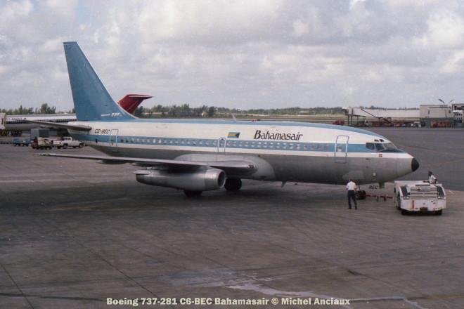 img107 Boeing 737-281 C6-BEC Bahamasair © Michel Anciaux