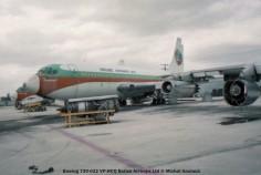 img110 Boeing 720-022 VP-HCQ Belize Airways Ltd © Michel Anciaux