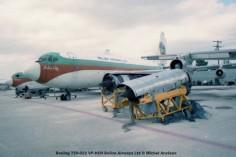 img111 Boeing 720-022 VP-HCO Belize Airways Ltd © Michel Anciaux