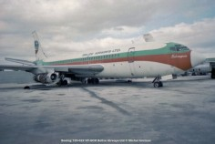 img112 Boeing 720-022 VP-HCM Belize Airways Ltd © Michel Anciaux