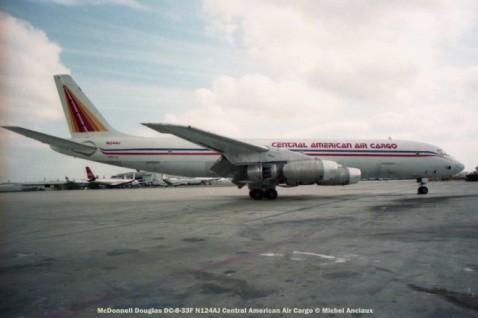 img113 McDonnell Douglas DC-8-33F N124AJ Central American Air Cargo © Michel Anciaux