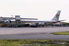img123 Boeing 707-373C HX-2401-X Tampa Cargo © Michel Anciaux