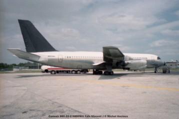 img129 Convair 880-22-2 N880WA Faix Vincent J © Michel Anciaux