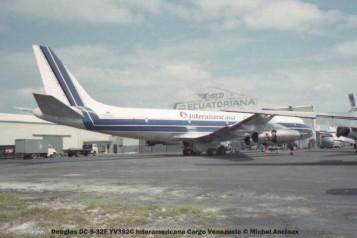 img130 Douglas DC-8-32F YV392C Interamericana Cargo Venezuela © Michel Anciaux