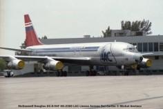 img146 McDonnell Douglas DC-8-54F HK-2380 LAC Lineas Aereas Del Caribe © Michel Anciaux