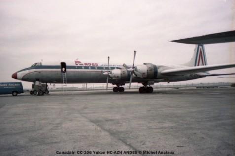 img152 Canadair CC-106 Yukon HC-AZH ANDES © Michel Anciaux