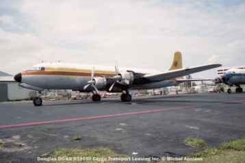img155 Douglas DC-6B N59050 Cargo Transport Leasing Inc. © Michel Anciaux