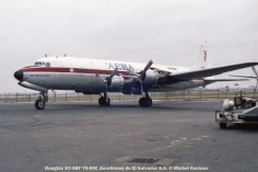 img161 Douglas DC-6BF YS-05C Aerolineas de El Salvador S.A. © Michel Anciaux