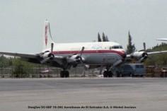 img162 Douglas DC-6BF YS-39C Aerolineas de El Salvador S.A. © Michel Anciaux