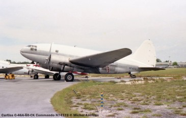 img163 Curtiss C-46A-60-CK Commando N74173 © Michel Anciaux