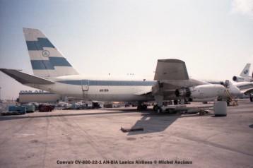 img168 Convair CV-880-22-1 AN-BIA Lanica Airlines © Michel Anciaux