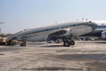 img169 Curtiss C-46F N77CC Rich International Airways © Michel Anciaux