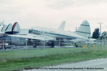 img170 Curtiss C-46F N77CC National Chlorinated Chemical © Michel Anciaux