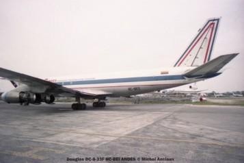 img171 Douglas DC-8-33F HC-BEI ANDES © Michel Anciaux