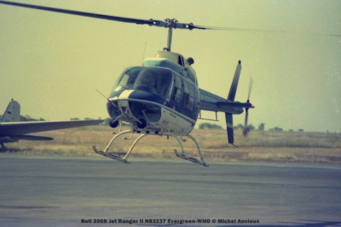 img172 Bell 206B Jet Ranger II N83237 Evergreen-WHO © Michel Anciaux