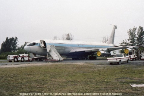 img173 Boeing 707-331C N786TW Pan Aereo International Corporation © Michel Anciaux