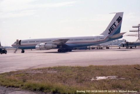 img181 Boeing 707-351B N651TF Jet 24 © Michel Anciaux