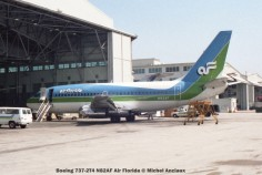 img183 Boeing 737-2T4 N82AF Air Florida © Michel Anciaux