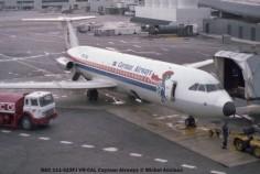 img230 BAC 111-523FJ VR-CAL Cayman Airways © Michel Anciaux