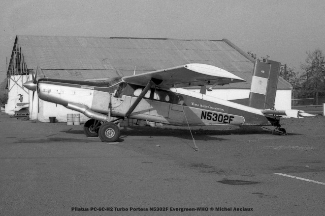 img230 Pilatus PC-6C-H2 Turbo Porters N5302F Evergreen-WHO © Michel Anciaux