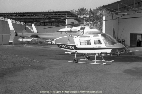 img232 Bell 206B Jet Ranger II N59588 Evergreen-WHO © Michel Anciaux