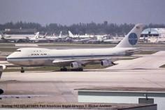 img234 Boeing 747-121 N736PA Pan American World Airways © Michel Anciaux