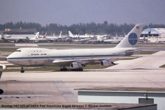 img234 Boeing 747-121 N736PA Pan American World Airways © Michel Anciaux