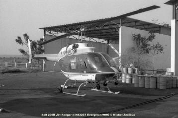 img236 Bell 206B Jet Ranger II N83237 Evergreen-WHO © Michel Anciaux