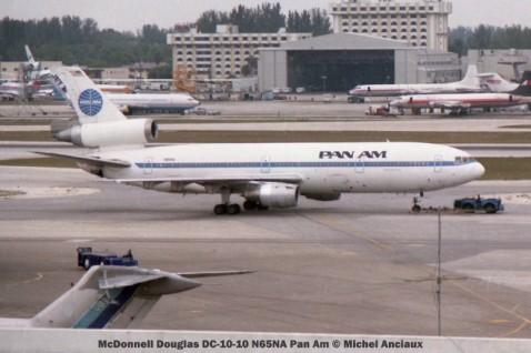 img245 McDonnell Douglas DC-10-10 N65NA Pan Am © Michel Anciaux
