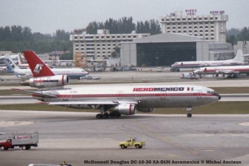 img246 McDonnell Douglas DC-10-30 XA-DUH Aeromexico © Michel Anciaux