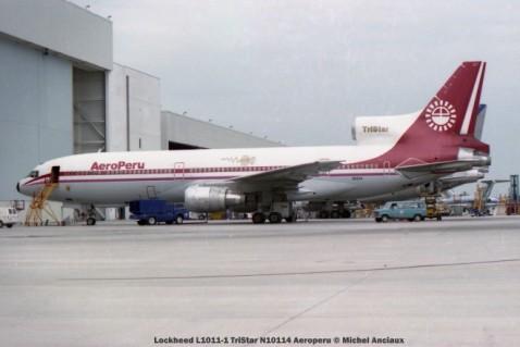 img249 Lockheed L1011-1 TriStar N10114 Aeroperu © Michel Anciaux
