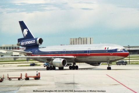 img287 McDonnell Douglas DC-10-30 N417DG Aeromexico © Michel Anciaux