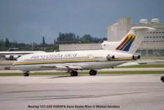 img298 Boeing 727-225 N353PA Aero Costa Rica © Michel Anciaux