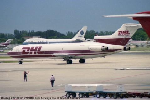 img305 Boeing 727-228F N722DH DHL Airways Inc. © Michel Anciaux