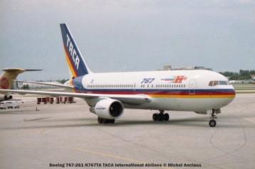 img308 Boeing 767-2S1 N767TA TACA International Airlines © Michel Anciaux