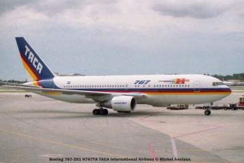 img309 Boeing 767-2S1 N767TA TACA International Airlines © Michel Anciaux