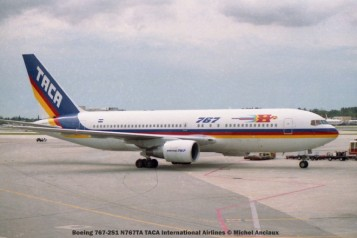 img309 Boeing 767-2S1 N767TA TACA International Airlines © Michel Anciaux