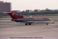 img317 Boeing 727-51 N463US Northwest Airlines © Michel Anciaux