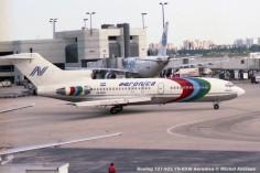img319 Boeing 727-025 YN-BXW Aeronica © Michel Anciaux