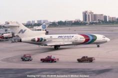 img320 Boeing 727-025 YN-BXW Aeronica © Michel Anciaux