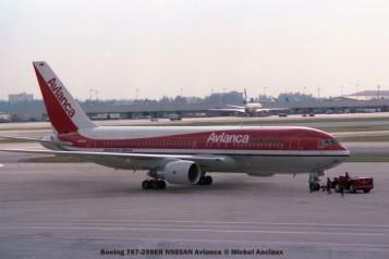 img323 Boeing 767-259ER N985AN Avianca © Michel Anciaux