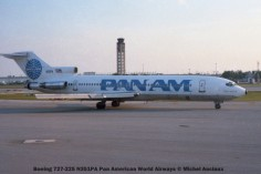 img329 Boeing 727-225 N351PA Pan American World Airways © Michel Anciaux