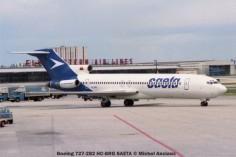 img343 Boeing 727-282 HC-BRG SAETA © Michel Anciaux