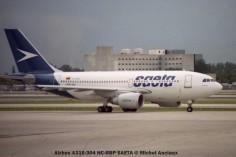 img345 Airbus A310-304 HC-BRP SAETA © Michel Anciaux