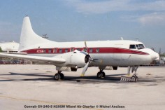 img349 Convair CV-240-5 N295M Miami Air Charter © Michel Anciaux
