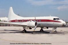 img349 Convair CV-240-5 N295M Miami Air Charter © Michel Anciaux