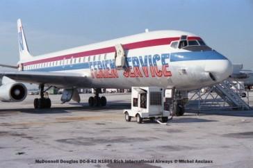 img359 McDonnell Douglas DC-8-62 N1805 Rich International Airways © Michel Anciaux