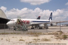 img492 McDonnell Douglas DC-8-62F N791AL Arrow Air © Michel Anciaux