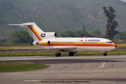 img506 Boeing 727-116 CC-CAG Ladeco © Michel Anciaux